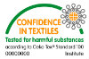 Confidence in textiles.